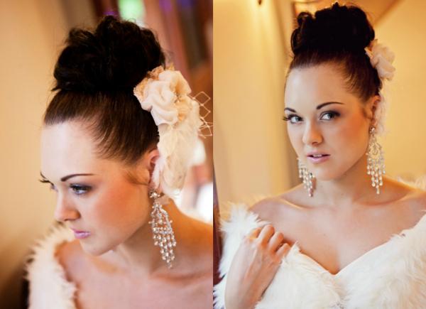 Glam Bridal Makeup : Vintage Glam Bride - Sally Townsend Makeup Artistry