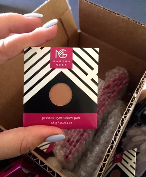 Makeup Geek delivery packaging