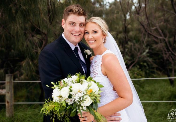 Bec Hallett wedding _ Life and Love Photography _Sally Townsend _ mobile Sunshine Coast makeup artist